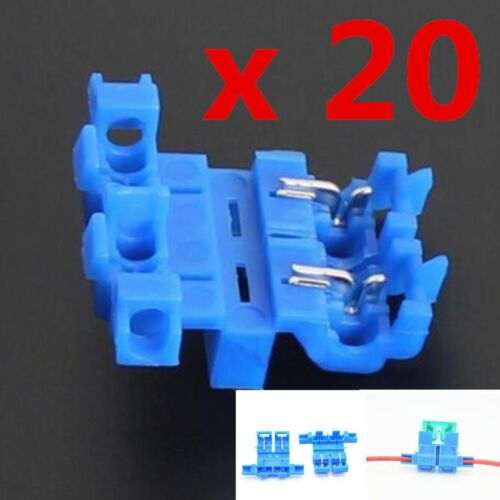 20PCS Quick Connect Fuse Holder / Fuse Socket / Fast installation Fuse 14~18AWG