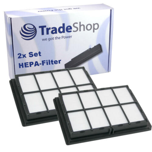2x HEPA Micro Filtro Per Siemens vsq4g1400//01 vsq4g1432//01 vsq4g2122
