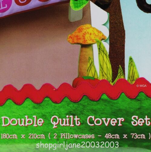 Lalaloopsy Mouse Double//US Full Bed Quilt Doona Duvet Cover Set