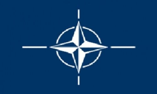 3/'x5/' NATO Flag Outdoor Banner Military North Atlantic Treaty Organization 3x5