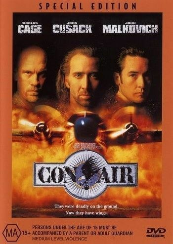 1 of 1 - Con Air - SPECIAL EDITION - DVD LIKE NEW FREE POSTAGE AUSTRALIA REGION 4