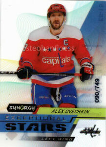 2020-21 Synergy Exceptional Stars #ES15 Alex Ovechkin 90/749 Washington Capitals