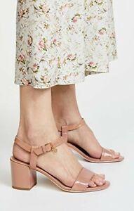 24cd590cbb3a NIB  288 Tory Burch Nude Pink Laurel Makeup Sandals Patent Leather ...
