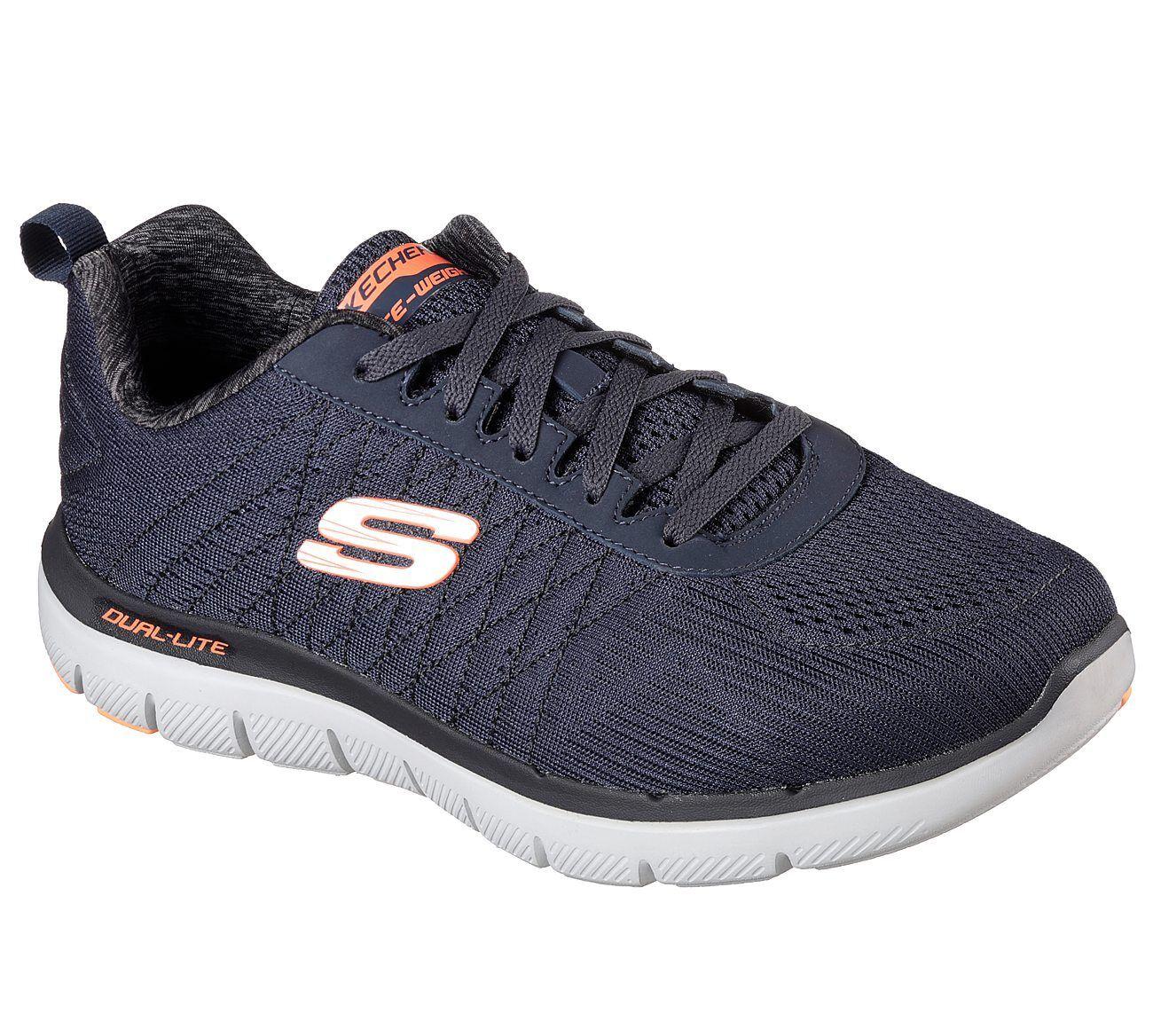 Skechers Flex Flex Skechers Advantage 2.0 - The Happs Running/Walking Trainers - Navy a192d6