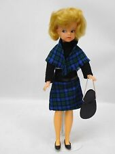 Vintage Pedigree Sindy Doll 1963 Made In England Wearing Lunch Date Outfit