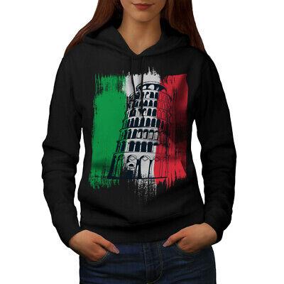 Begeistert Wellcoda Italy Womens Hoodie, Italy City Casual Hooded Sweatshirt äSthetisches Aussehen