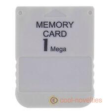 Sony Playstation 1, Ps1, Psx, una memoria de tarjeta de almacenamiento de 1 MB para partidas guardadas