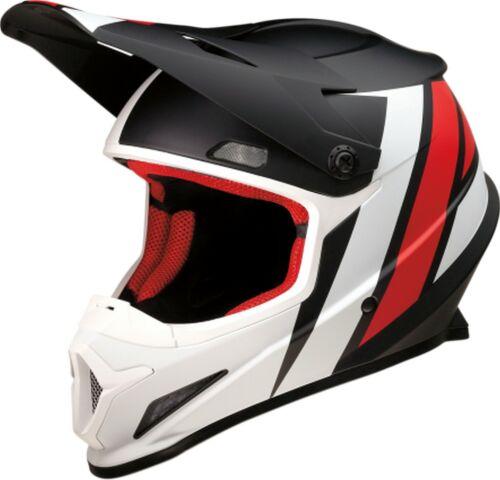 Z1R Rise Evac MX Offroad Helmet Black//Red//White