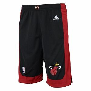 28) ADIDAS Miami Heat nba Basketball Jersey Shorts YOUTH KIDS BOYS s ... 2d6fdec05b2d1