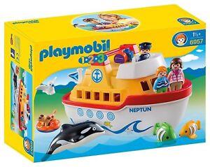 Playmobil 6957 - 1.2.3 Bateau, Porte-documents Nouveau