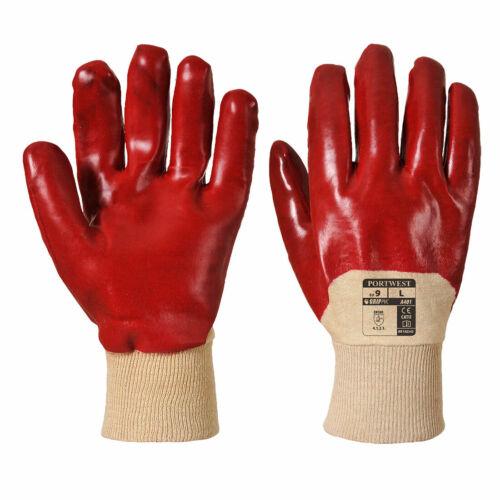 Portwest A401 PVC VENTI Gant Imperméable Léger Rouge 9//L ***