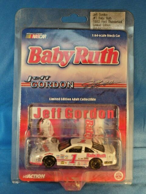 JEFF GORDON 1992 ACTION BABY RUTH 1:64TH DIE CAST CAR #1 ...