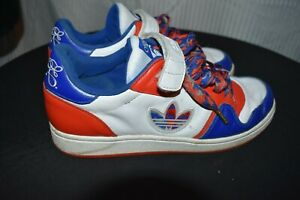 quality design 0df90 ddf41 Image is loading ADIDAS-Missy-Elliott-Edition-Sneakers-Red-White-Blue-