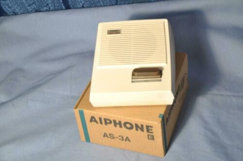 AIPHONE AS-3A Wall or Desk Mount Sub Station for AP//MP Master Stations madeJapan