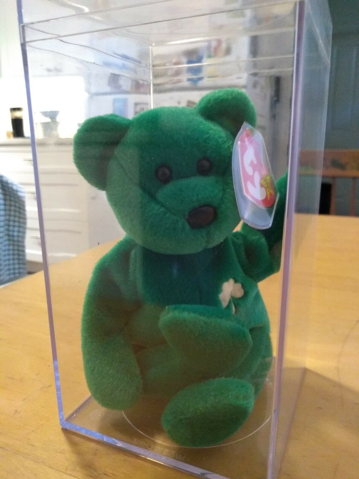TY Beanie Baby ERIN the Bear 1997 Mint Condition Rare RARELY HANDLED