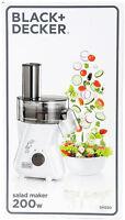 Black & Decker Sm250 Salad Maker 220 240 Volt Food Processor Non-usa Euro Cord