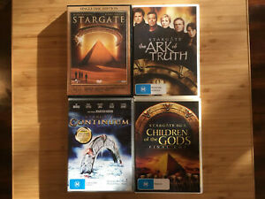 Stargate-The-Ark-Of-Truth-Continuum-Children-Of-The-Gods-4x-DVD-Movies