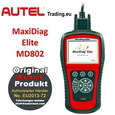 AUTEL maxidiag elite md802 OBD 2 Can-Bus automóvil Dispositivo de diagnóstico tester auslesegerät