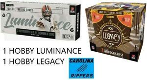 2021 Luminance Legacy 2X Football Hobby RANDOM TEAM BOX BREAK READ DES #1