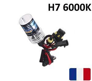 ampoule de rechange pour kit hid xenon h7 6000k 55w lampe feu phare bulb voiture ebay. Black Bedroom Furniture Sets. Home Design Ideas