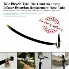 Bike Tyre Air Pump Inflator Replacement Extension Hose Valve For Schrader I0G3
