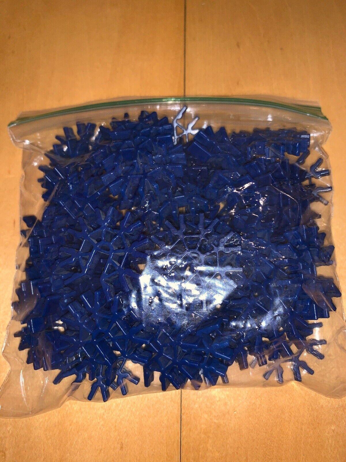 50 KNEX BLUE CONNECTORS 7-Position 3D Bulk Standard Replacement Parts//Pieces Lot
