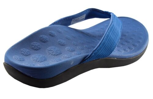 Pro11 Wellbeing orthotic sandals  arch support plantar Fasciitis heel pain BLUE
