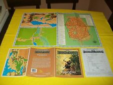 FRE1 SHADOWDALE FORGOTTEN REALMS DUNGEONS & DRAGONS AD&D 2ND EDITION -1 WITH MAP