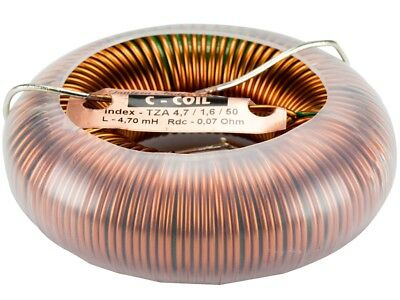 Jantzen-audio C-coil Ringkernspule - Toroidspule - 1,6mm - 10,00mh - 0,10ohm Modischer (In) Stil;