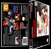 Chrono Trigger - Snes Reproduction Art Case/box No Game.