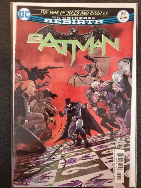 DC Comics Rebirth Batman #29 NM