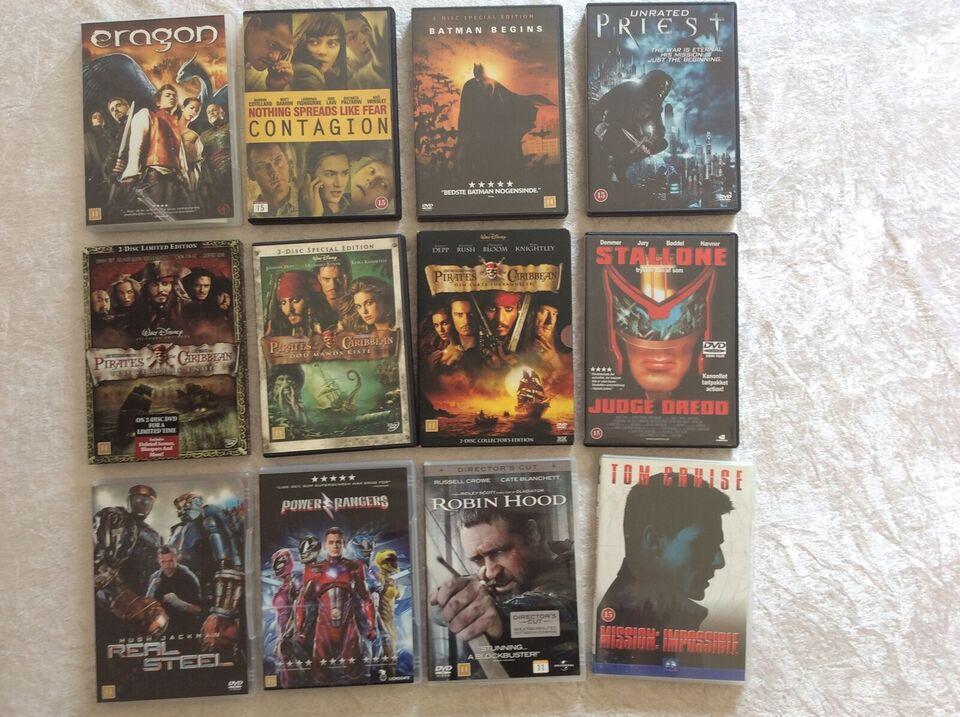 DVD samling, DVD, science fiction