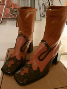Asos Western Cowboy Tan Brown Sock