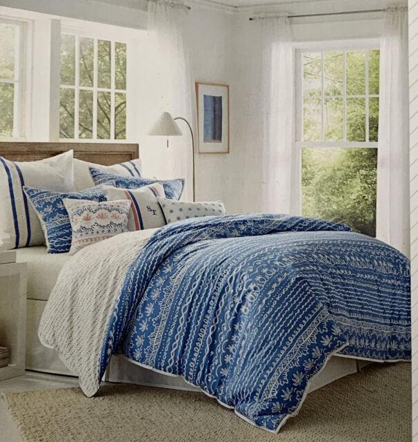 Southern Tide Indigo River Comforter, Southern Tide Bedding Queen