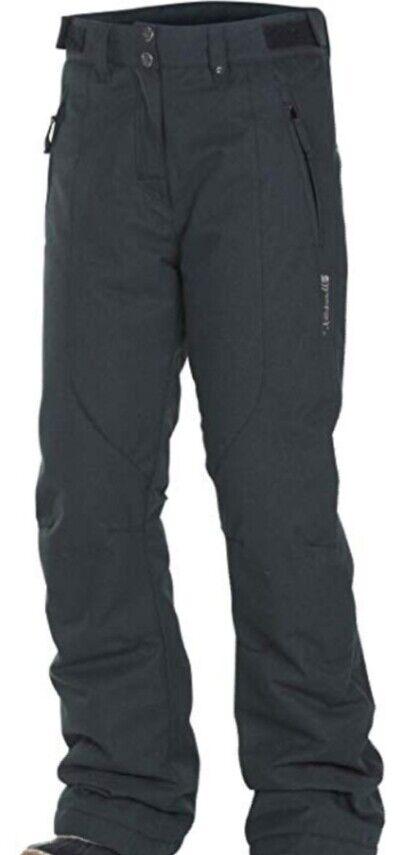 Rehall Heli-R Pantalones Nieve Esquí Snowboard Pantalón para Mujer en Antracita