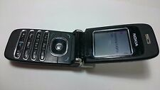 TELEFONO DE TAPA, MOVIL DE TECLAS, MOVISTAR, NOKIA 6060 GRIS
