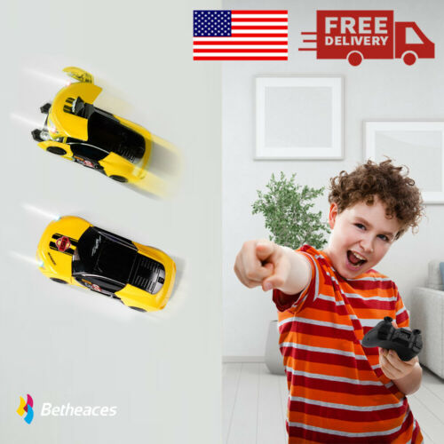 2In1 RC Car Wall Climbing Stunt Car,Transforming Robots Remote Control Car Toys