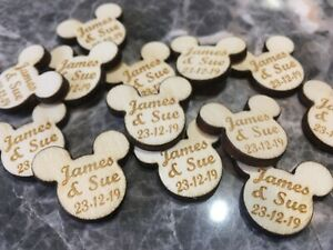 Personalised-Disney-Wooden-Engraved-Mickey-Mouse-Ears-Scatter-Wedding-Favours