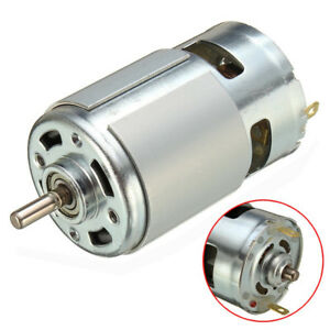 24V DC Motor for Traxxas R//C and Power Wheels  Powerful Fan Cooled High Speed