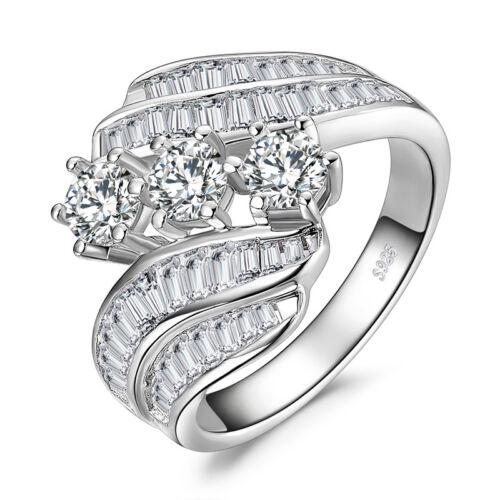 JewelryPalace 5ct Zirkonia Hochzeit Verlobungsring 925 Sterling Silber