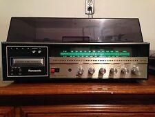 Panasonic SE-3190 AM/FM Turntable w/ 8 Track Player/Recorder