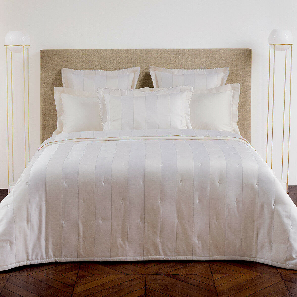 YVES DELORME - ANTIC DUVET COVER 100% COTTON 300TC SATEEN 60% OFF RRP