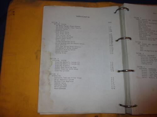 DJB D350 ARTICULATED DUMP TRUCK PARTS CATALOG BOOK MANUAL