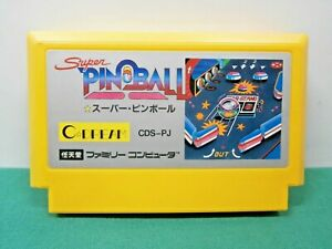 Details about NES -- SUPER PINBALL -- popular  Famicom  Japan Game  10290