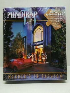 MindTrap 500 piece Mystery Jigsaw Puzzle New Murders in Fashion