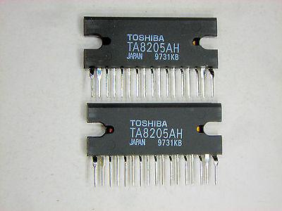 "TA8205AH  /""Original/"" Toshiba  17P ZIP IC  2  pcs"