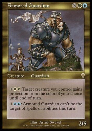Invasion *Rare Shroud* MTG 4x ARMORED GUARDIAN