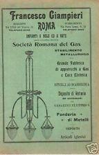 LAMPADE_LAMPADARI_ILLUMINAZIONE ELETTRICA E A GAS_ROMA_GIAMPIERI_PUBBLICITARIA