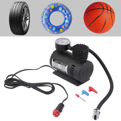 Auto Fahrrad Tragbarer Reifen Luftkompressor Elektrische Pumpen Luftpumpe~LT