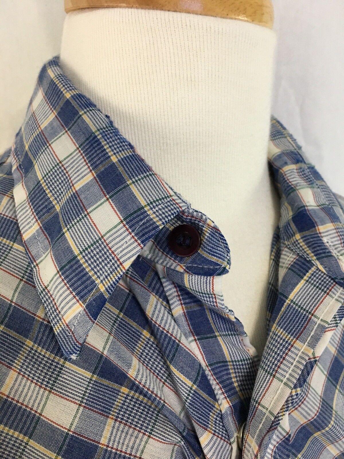 Miller Miller Miller Pearl Snap Shirt Vintage Siz… - image 5